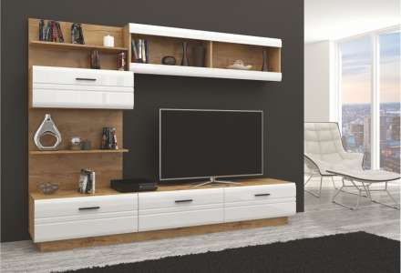 Luxusní obývací stěna Axima