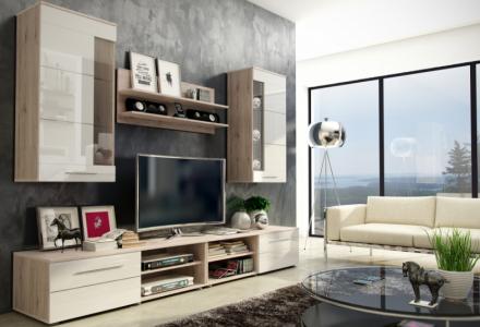 Moderní obývací stěna Hope